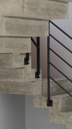 scal 39 in escalier b ton cr maill re dans le d partement. Black Bedroom Furniture Sets. Home Design Ideas