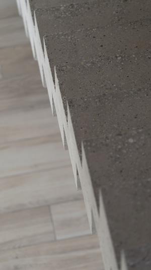 scal 39 in escalier graphique cr maill re dans la. Black Bedroom Furniture Sets. Home Design Ideas