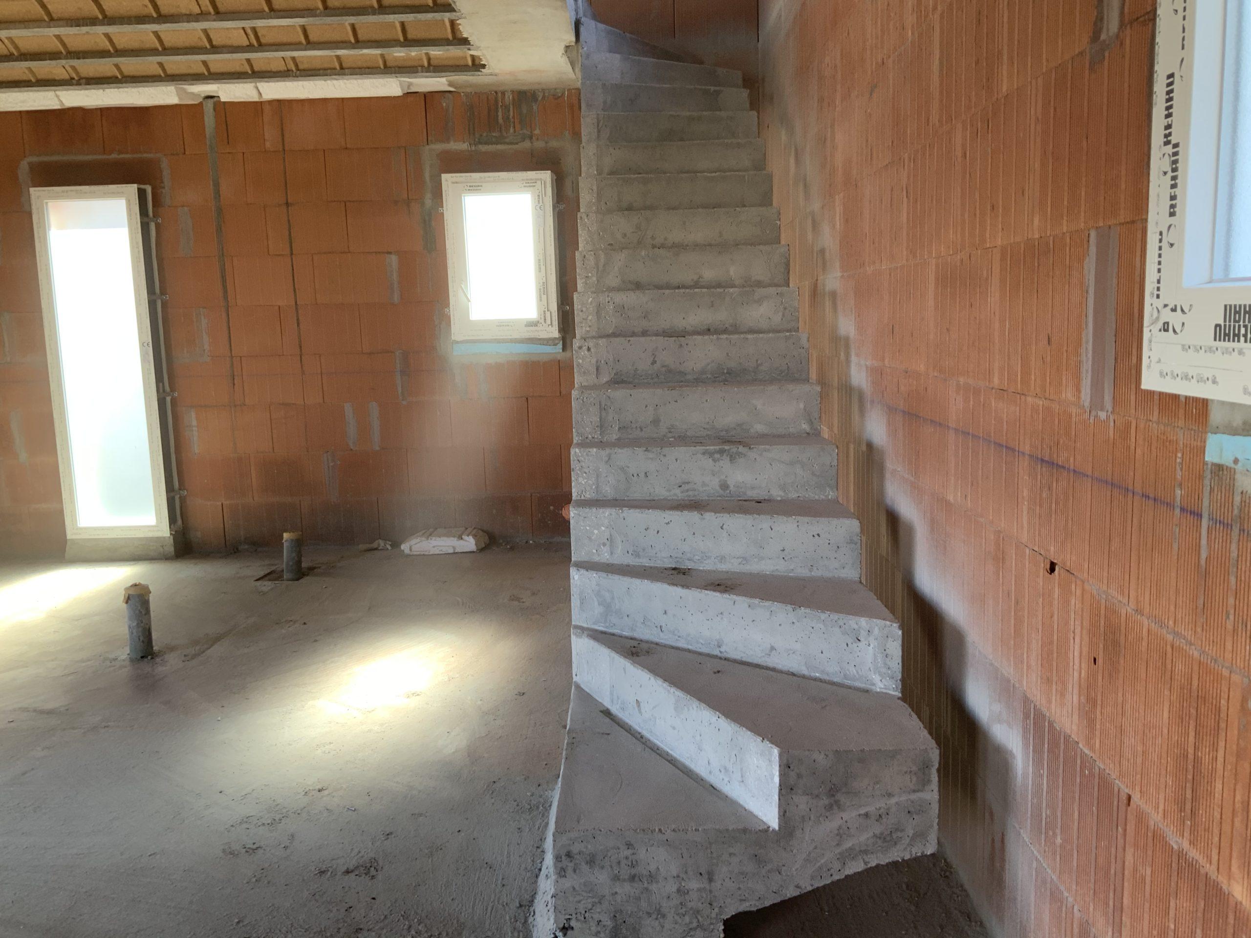Deux quart balancé pour cet escalier