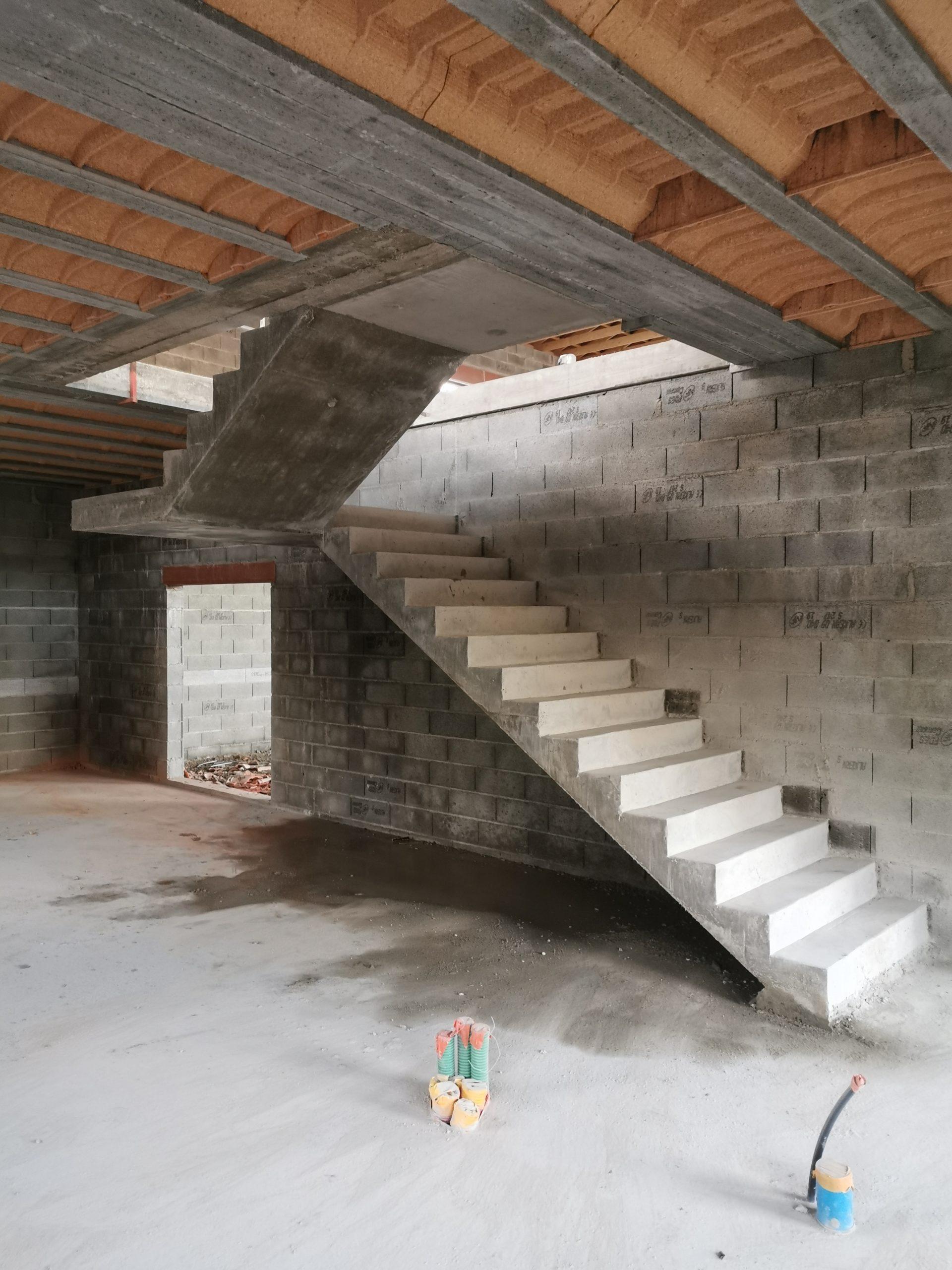 Escalier atypique pour une maison individuelle