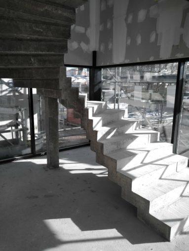 prix d'un escalier béton