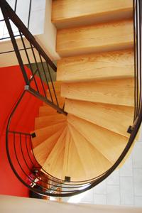 Escalier béton et bois sur mesure