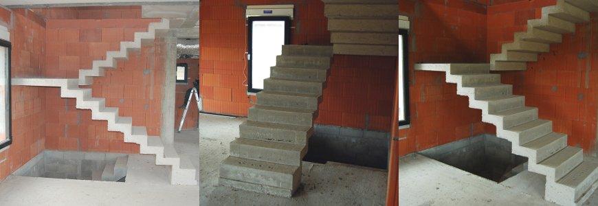 escalier à crémaillère architecte
