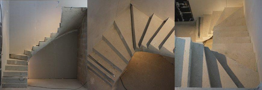 Escalier pour une maison individuelle